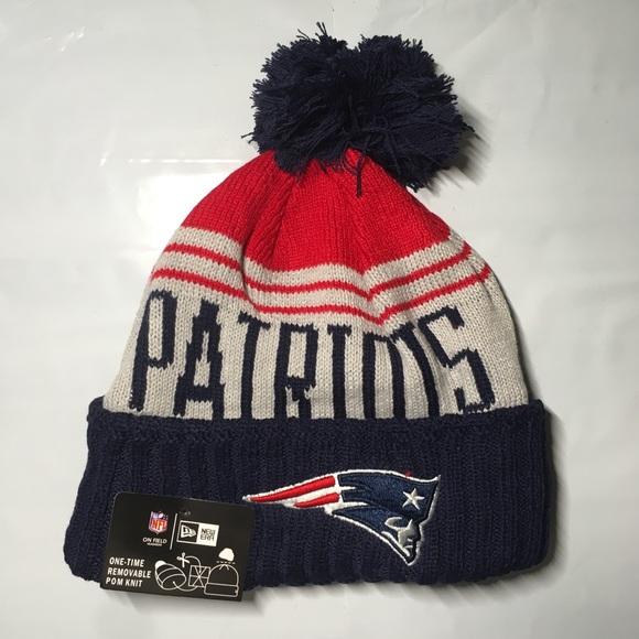 29d83b856d55f New England Patriots beanie hat